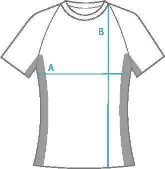 Medidas camiseta técnica chica